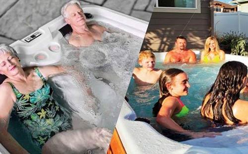 should i buy a hot tub or swim spa?